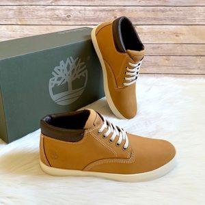 Timberland Wheat Dausette Chukka Sneaker Boots